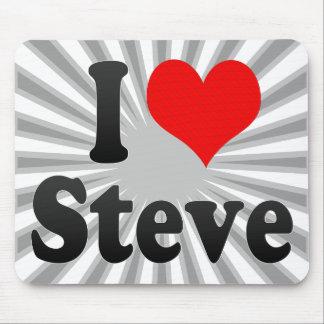 I love Steve Mouse Pads