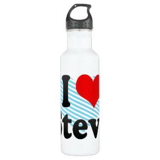 I love Steve 710 Ml Water Bottle