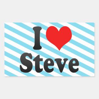 I love Steve Stickers