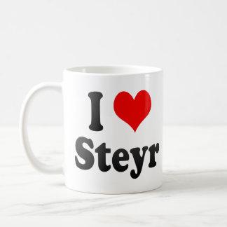 I Love Steyr, Austria. Ich Liebe Steyr, Austria Classic White Coffee Mug