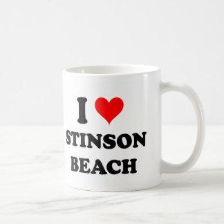 I Love Stinson Beach California Mug