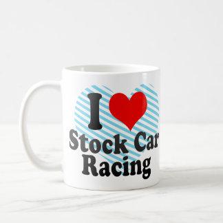 I love Stock Car Racing Mug