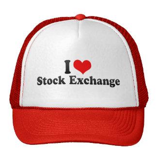 I Love Stock Exchange Trucker Hat
