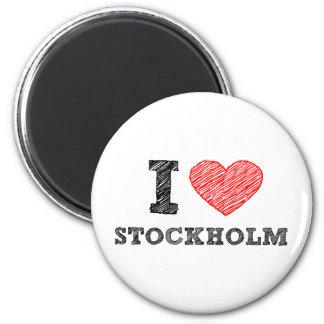 I love Stockholm Magnets