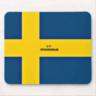 I Love Stockholm Mouse Mat