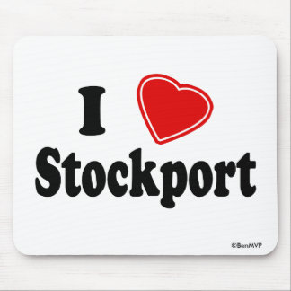 I Love Stockport Mouse Mat
