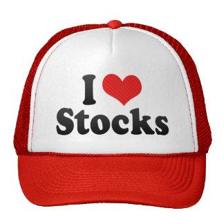 I Love Stocks Hat