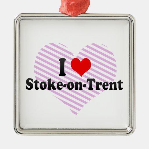 Stoke On Trent United Kingdom  city photo : Love Stoke on Trent, United Kingdom Christmas Tree Ornaments