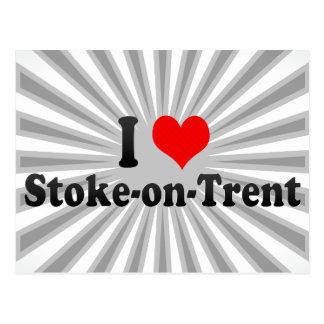 I Love Stoke-on-Trent, United Kingdom Postcard