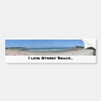 I love Stoney Beach... Bumper Stickers