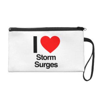 i love storm surges wristlet purse