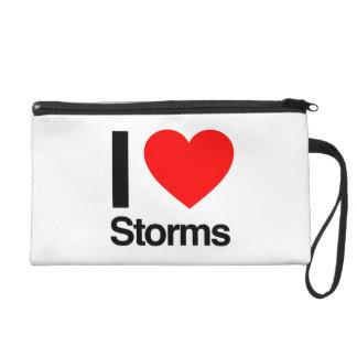 i love storms wristlets
