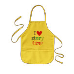 I Love Storytime T-Shirts & Gifts Apron