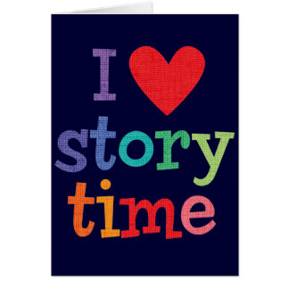I Love Storytime T-Shirts & Gifts Cards