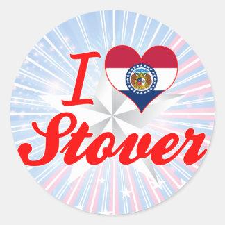 I Love Stover, Missouri Sticker