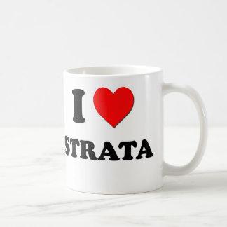 I love Strata Coffee Mug