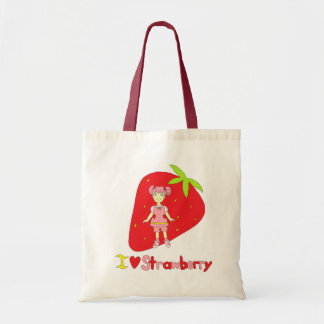 I Love Strawberry Bags