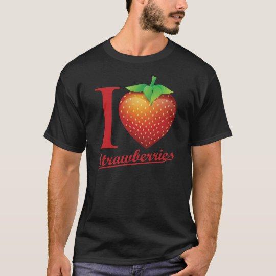 I Love Strawberry T-Shirt