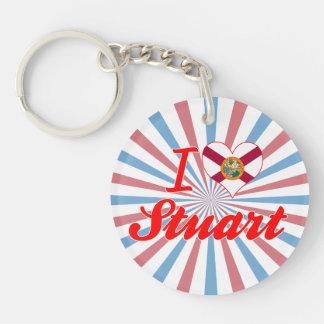 I Love Stuart Florida Key Chains