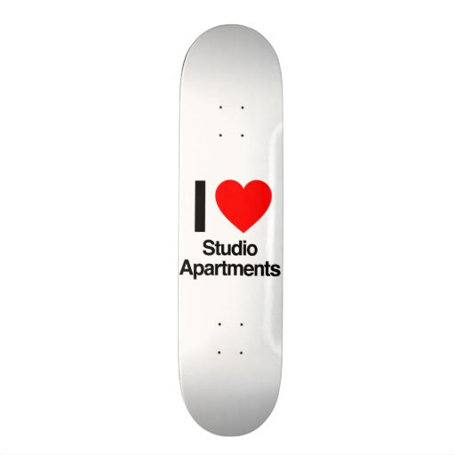 i love studio apartments skateboard decks