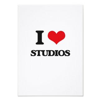 I love Studios 13 Cm X 18 Cm Invitation Card