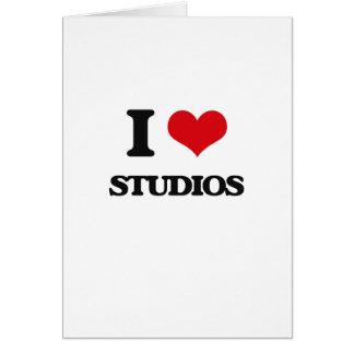 I love Studios Greeting Card