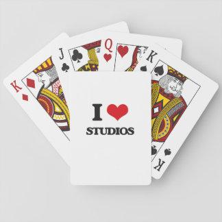 I love Studios Poker Cards