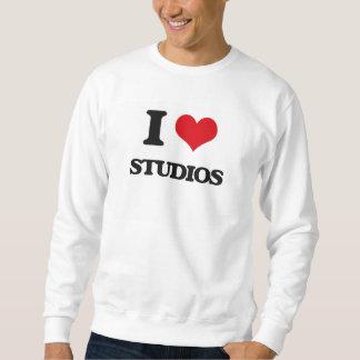 I love Studios Pullover Sweatshirt