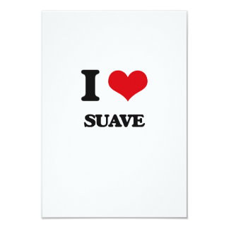I love Suave 3.5x5 Paper Invitation Card