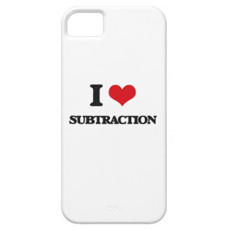 I love Subtraction Case For The iPhone 5