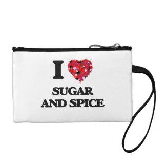 I love Sugar And Spice Change Purse