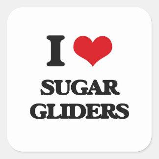 I love Sugar Gliders Stickers
