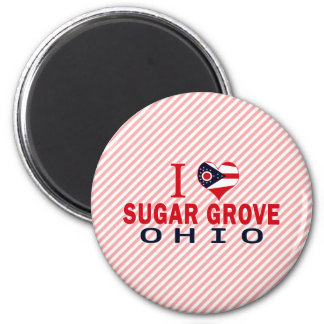 I love Sugar Grove, Ohio Magnet