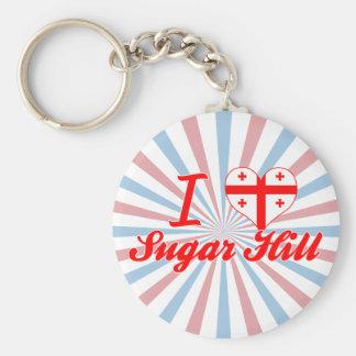 I Love Sugar Hill, Georgia Keychains