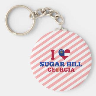 I Love Sugar Hill, Georgia Keychain