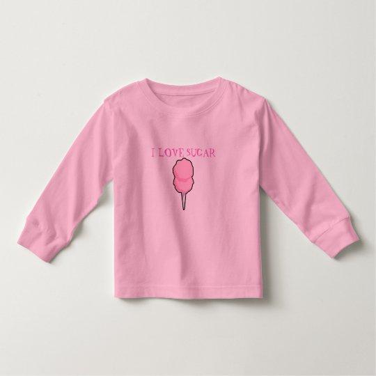 """I LOVE SUGAR"" TODDLER T-Shirt"