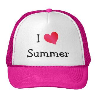I Love Summer Cap