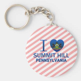 I Love Summit Hill, PA Keychain