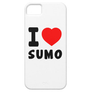 I Love Sumo Cover For iPhone 5/5S