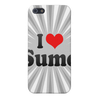 I love Sumo Cover For iPhone 5