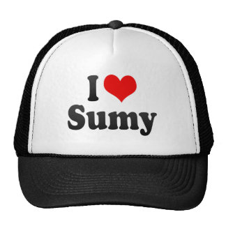 I Love Sumy, Ukraine Mesh Hat