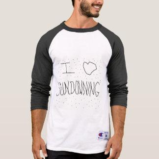 I LOVE SUNDOWNING BASEBALL T T-Shirt