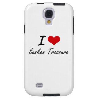 I love Sunken Treasure Galaxy S4 Case