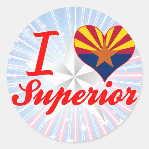 I Love Superior, Arizona Sticker