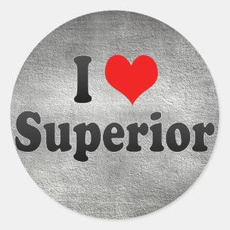 I Love Superior, United States Sticker