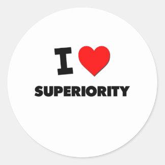 I love Superiority Sticker