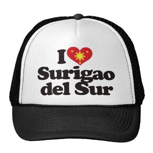 I Love Surigao del Sur Hats