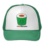 I Love Sushi Cap