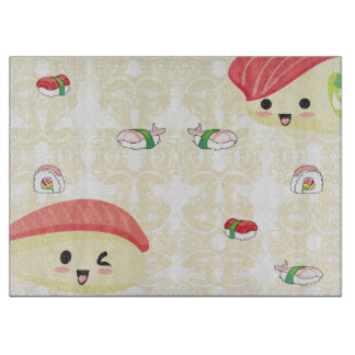 I love Sushi Chopping Board