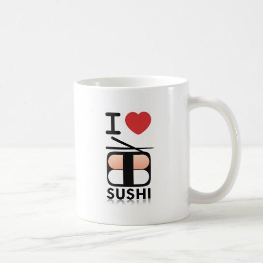 I Love Sushi Coffee Mug